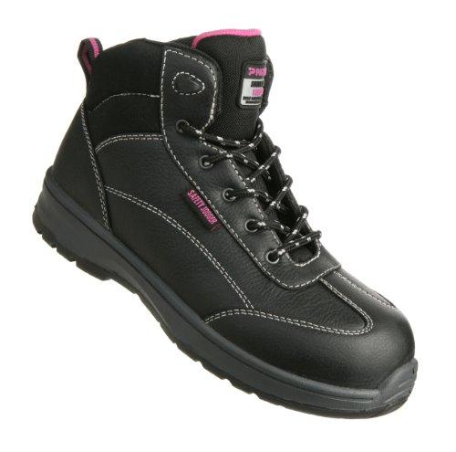 Damen Sicherheits-Stiefel S3 Typ BESTLADY in Gr.41. Ausführung Lady Line exklusiv für Frauen! -