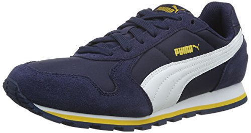 Puma St Runner Nl, Zapatillas de Running, Mujer, Azul (Peacoat/White 31), 45 EU
