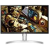 "LG 27UL550-W - Monitor 4K UHD de 68,6 cm (27"") con Panel IPS (3840 x 2160 píxeles, 16:9, 300 cd/m², sRGB >98%, 1000:1, 5 ms, 60 Hz) Color Blanco"