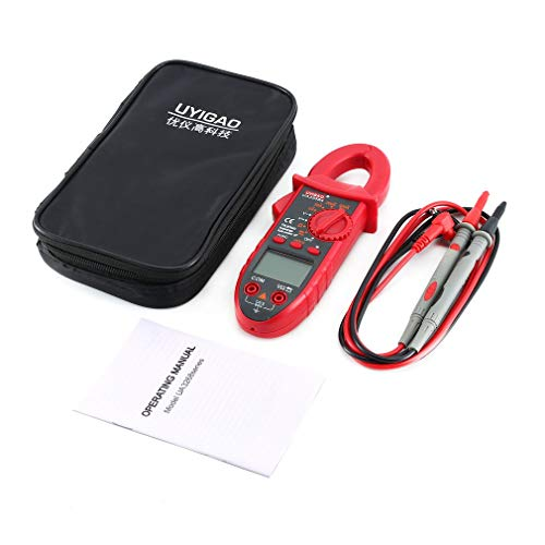 FDBF Uyigao Digital Clamp Meter Multimeter Data Hold AC/Dc Volt Resistance  Tester