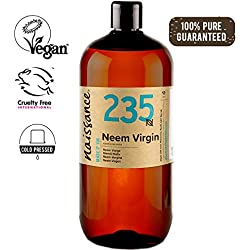 Naissance Huile Végétale de Neem Vierge (n° 235) - 1 litre - 100% pure et naturelle