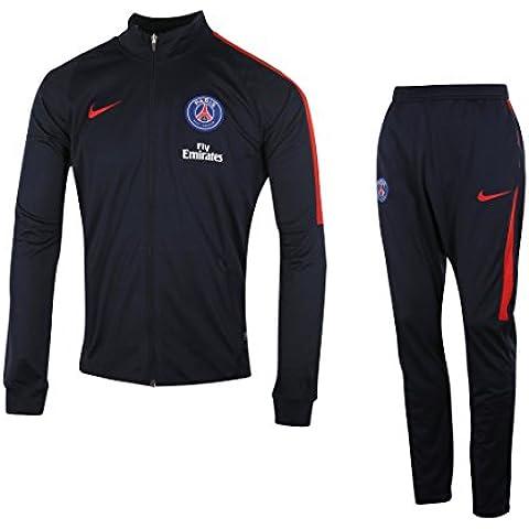 Nike PSG M NK Dry TRK Suit SQD K - Chándal Paris Saint Germain para hombre, color azul, talla L