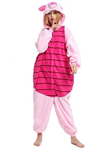 Venaster-Kigurumi-Pigiama-unisex-Animal-Cosplay-Pajamas-Anime-Pigiama-Tuta-da-Gioco-Costume