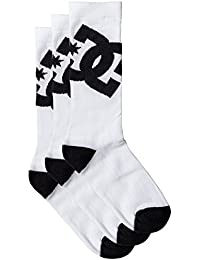 Chaussette DC Shoes: Crew 3Pack Sock WH/BK 8-10