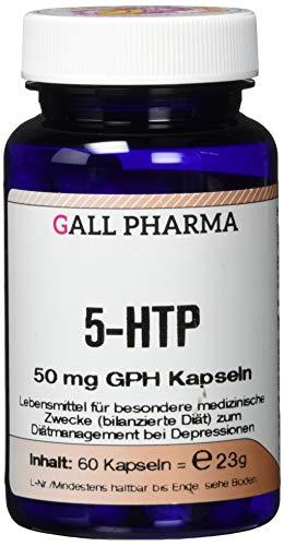 Gall Pharma 5-HTP 50 mg GPH Kapseln, 1er Pack (1 x 60 Stück)