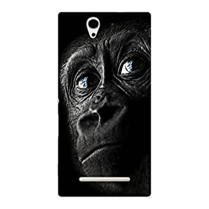 Stylish King Kong Blue Eyes Back Case Cover for Sony Xperia C3