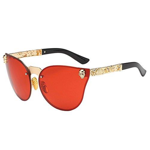 longzjhd Damen sonnenbrille party Mode Unisex Herren Rahmen Schatten Acetat Rahmen UV Brille...