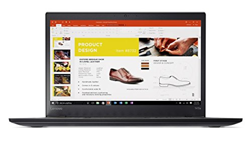 Lenovo ThinkPad T470s Windows 10 Pro Laptop - Intel Core i7-7600U, 8GB RAM, 128GB SSD, 14