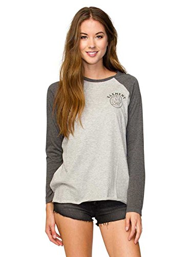 Damen Longsleeve Element Tiger T-Shirt Heather Grey