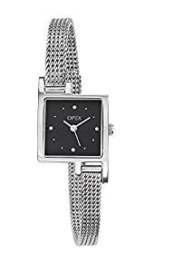 Opex X3231MA1 - Reloj de mujer de cuarzo, correa de acero inoxidable color gris de Opex