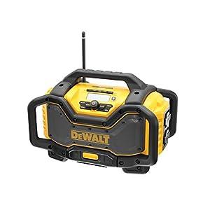 41x3vIoS56L. SS300  - Dewalt DEWDCR027 DCR027 FlexVolt XR Cargador de Radio 240 V y Unidad de Litio Desnuda, Multicolor, Small