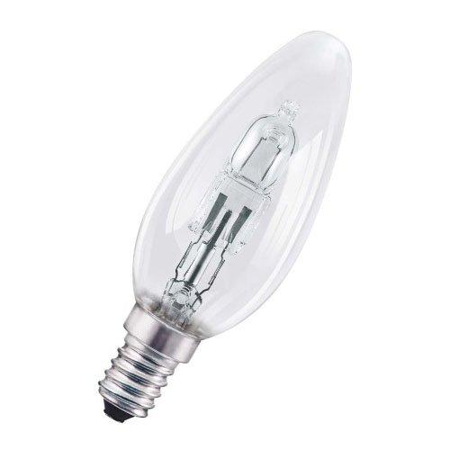 Osram Pro Classic B Halogen-Lampe, E14-Sockel, dimmbar, 30 Watt - Ersatz für 40 Watt, Warmweiß - 2700K, 2er-Pack -