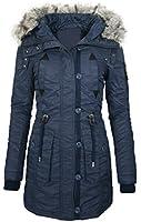 Damen Winter Jacke Outdoor Mantel Winterjacke wasserabweisend B54