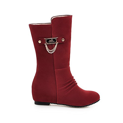 A&N - Stivali Chelsea donna Red