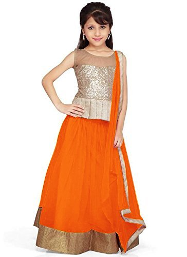 Kids Lehenga Choli (Semi_Stiched) (07 - 10 Years)