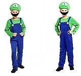 Kinder Kostüm Klempner Luigi - Fasching Karneval