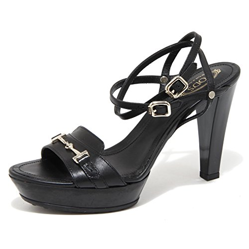 55707 sandalo TOD'S nero sandal scarpa donna shoes women Nero