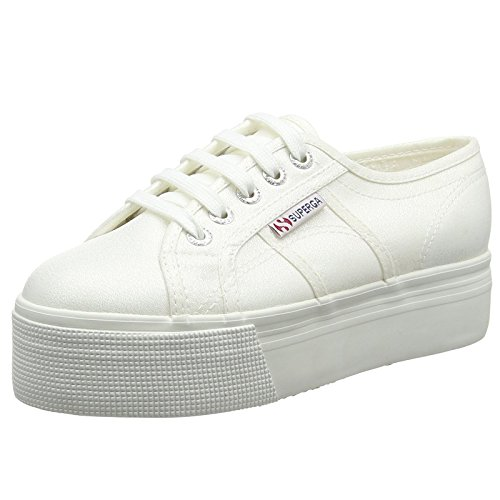 Superga 2790 Lamew, Sneakers basses mixte adulte Blanc