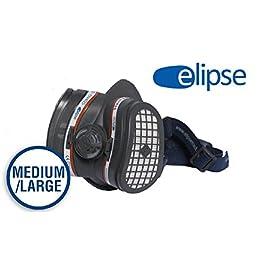 GVS FILTER TECHNOLOGY SPR504 Elipse A1P3 semimaschera con filtri fissi senza manutenzione pronta alluso M//L blu