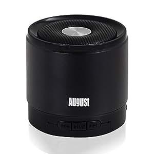 august ms425 haut parleur bluetooth 4 0 portable avec microphone enceinte sans fil puissant et. Black Bedroom Furniture Sets. Home Design Ideas