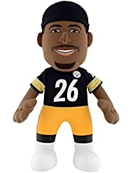 "NFL Pittsburgh Steelers Le'Veon Bell Plush Figure, 10"", Black"