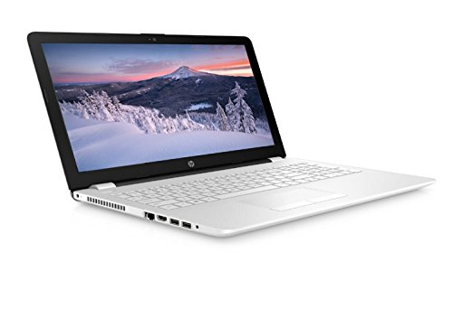 HP 15-bs009na 15.6-inch FHD Laptop (Snow White) - (Intel Pentium-N3710, 8GB RAM, 1TB HDD, Intel HD Graphics 405, Windows 10 Home)