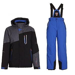 Killtec Skianzug Nibal für Jungen und Mädchen Wasserdicht, Winddicht und Gute Passform