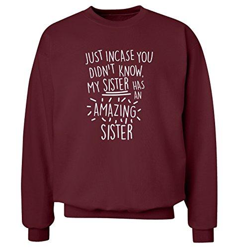 incase-vous-ne-savait-pas-my-sister-dispose-dune-amazing-sister-sweat-pull-xs-3-x-l-rouge-xx-large