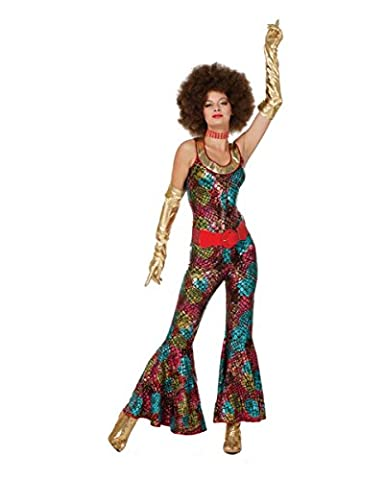 Costumes Foxy Lady Disco Adultes - Foxy Lady Hippie Costume Plus Size XXL