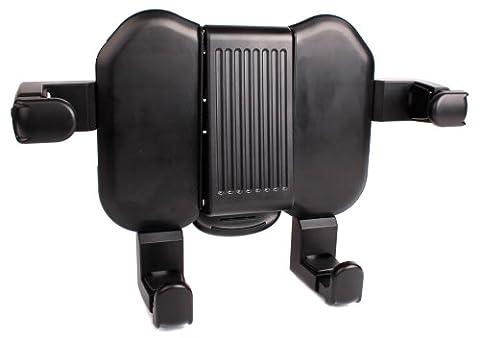 Fixation support extensible pour appui-tête voiture compatible lecteur DVD portable Philips - PD7022, PD7001B/12, PD7042, PD9015, PD9030/12, PD9122 et PET716