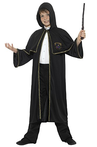 childrens-wizard-cloak-boys-girls-sorcerer-fancy-dress-costume-age-7-8-9-10-11-12-13-14-medium-age-7
