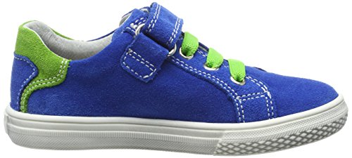 Richter Kinderschuhe Mose, Sneakers basses garçon Bleu (lagoon/apple)