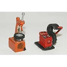 Langley Models garaje neumáticos cambiador máquina equilibradora OO escala Kit F116b sin pintar