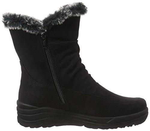 Gabor Shoes 36.742 Damen Kurzschaft Stiefel Schwarz (schwarz (Webl.) 87)