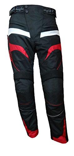 *Bangla 1545 Motorradhose Tourenhose Textil Cordura 600 schwarz-Rot 5XL*