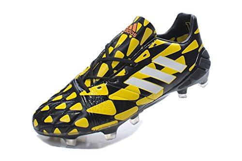 Hommes Chaussures de Football Nitrocharge 1.0 AG Noir NC faible pour bottes de football, Homme, noir, UK10.5/EUR45