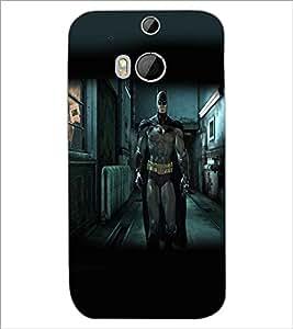 HTC ONE M8 SUPERHERO Designer Back Cover Case By PRINTSWAG
