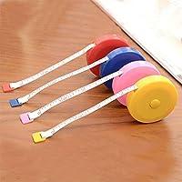 Binghotfire Creative Candy Color Mini Retractable Small Tape Measure Multi-colorMulti-color