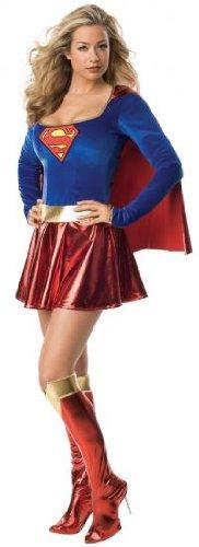 Supergirl Damen-Kostüm Sexy (Supergirl Kostüm Film)