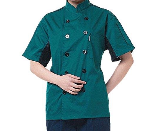 Giacche da chef Manica Corta Verde