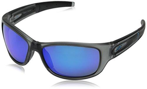 Julbo sunglasses J 459 Stony 1121 Acetate plastic Matt Grey Grey green with Petrol mirror effect