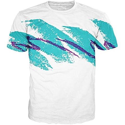 Uideazone Donne Uomini camicia camicetta 3D Print Maglie a manica corta T Shirt Design shirt