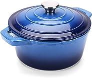 Puricon Dutch Oven, Round Ceramic Enamel Dutch Ovens Pot