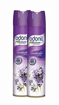 Odonil Room Spray - 140 g (Lavender Mist, Pack of 2)