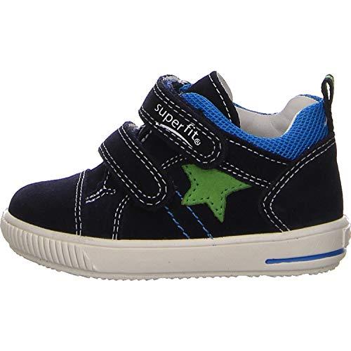 Superfit Baby Jungen Moppy Sneaker Blau 80, 24 EU