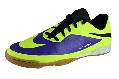 Nike Jr. HYPERVENOM Phade IC Purple 599842 570 Violett (Electro Purple/Volt/Black)