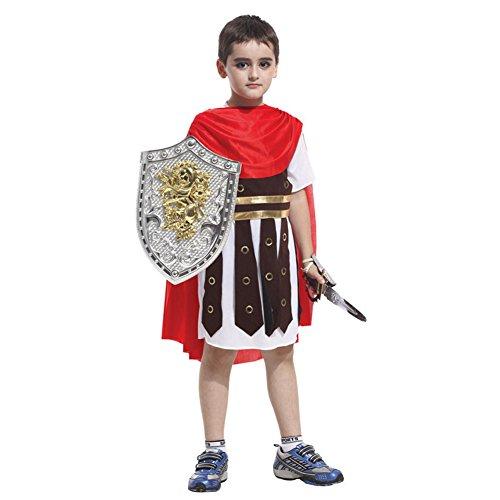 Cosplay Kostüme Requisiten Anzüge Karikatur Halloween Kleidung römische Krieger und Prinz (Kostüm Krieger Prinz)