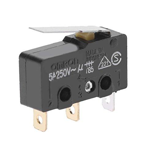 asiproper 5x Omron ss-5gl 125V 5A Endschalter Teile Ersatz für 3D - Ersatz-endschalter