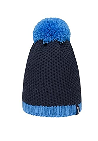 Döll Unisex Mütze Pudelmütze Strick, Gr. 55, Blau (navy blazer 3105)