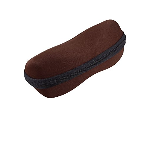 Brillen Brillen Brillen Faux-Flanell-Box Holder Schokolade Farbe